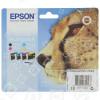 Cartouches D'Encre Couleur D'Origine Multi-Emballage T0715 Epson