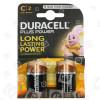 Duracell Plus C Alkali-Batterien (2er Pack)