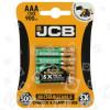 JCB AAA NiMH Wiederaufladbare Batterien (betriebsbereit)