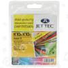 Multipacco Di 10 Cartucce Compatibili Kodak 10 : Nero E Colori Jettec