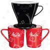 Original Melitta 1x4 Pour-Over Filter Set