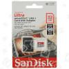 Carte Mémoire Et Adaptateur 32GO Micro SDHC Classe 10 Sandisk