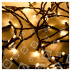 Guirlande De Noël De 50 Lumières LED Blanc Chaud Minuterie- A Piles - The Christmas Workshop