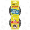 Dishmatic Topfreiniger-Bürstenaufsätze - Nachfüllpackung - Edelstahlwolle