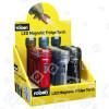 Rolson LED Kühlschrankmagnet-Taschenlampe (24er Packung)