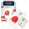 Sacs Aspirateur Et Pack Filtre Fjm Hyclean 3D Efficiency (Boîte De 4 Sacs) Miele