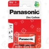 Panasonic 9V Zinkchlorid-Batterie