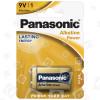 Panasonic 9V Alkaline Batterie