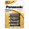 "Piles Alcalines ""Power"" LR6 AA Panasonic"