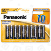 Original Panasonic AA Alkali Power Batterien (10er Pack)