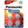 Panasonic CR 2032 Lithium, Knopfzelle - 4er Packung