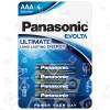 Piles LR3 Alcalines Evolta Panasonic