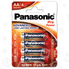 Panasonic AA Pro Power Alkali-Batterien