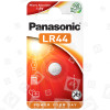 Pile Bouton Alcaline LR44 Panasonic
