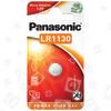 Panasonic LR1130 Knopfzelle