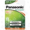 Pilas Recargables AAA De Teléfonos - Pack De 2 Panasonic