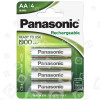 Panasonic Evolta AA Wiederaufladbare Batterien