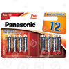 Panasonic AA Pro Power Alkaline Batterien