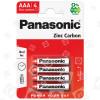 Piles LR3 Chlorure De Zinc Panasonic