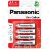 Batterie AA Zinco Carbone Panasonic