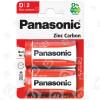 Piles Chlorure De Zinc LR20 (D) Panasonic