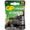Pilas De Litio 9V PP3 CR-V9 GP
