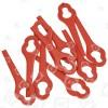 Cuchillas Plásticas De Cortabordes - Pack De 10 Aldi