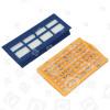 Hoover U63 Staubsauger-Mikrofaserfiltersatz