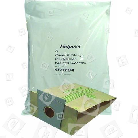 Il Sacchetto Di Polvere (confezione Da 5) Hotpoint
