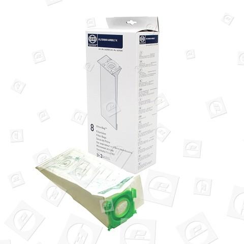 Sacchetti Per Aspirapolvere Filterbox Airbelt K Ultra (confezione Da 8)6629ER Sebo