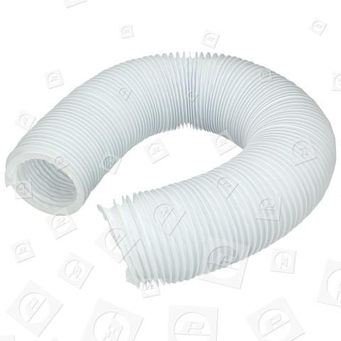 Wpro PVC Flexibler Abluftschlauch Für Wäschetrockner - 2m