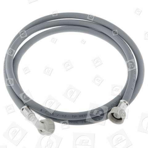 Tubo Di Ingresso Acqua Fredda Universale (grigio) - 2,5m - Connessione Dritta/curva Candy