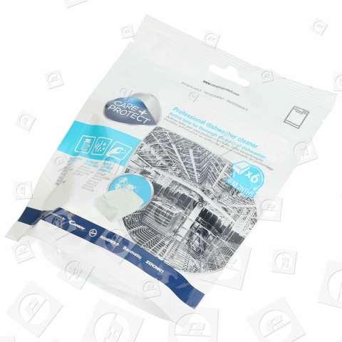 Tavolette Igienizzanti Per Lavastoviglie (Confezione Da 6 ) Candy