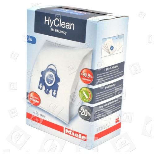 Sacs Aspirateur Et Pack Filtre Gn HyClean 3D Efficiency (Boîte De 4) Miele