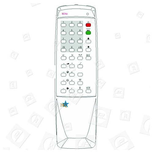 Remotes Obsolete RC763/HQ: Remote Cotar