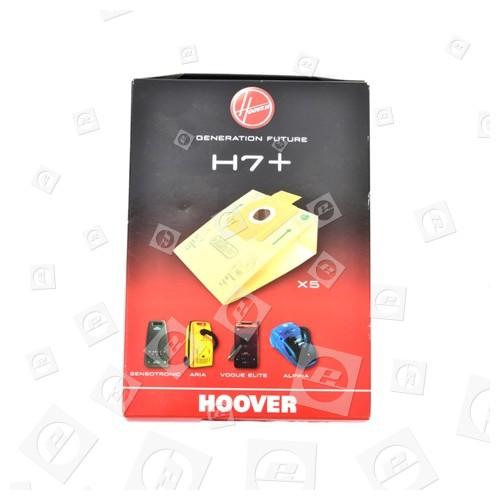 H7+ Sacchetto Di Carta (confezione Da 5) Hoover