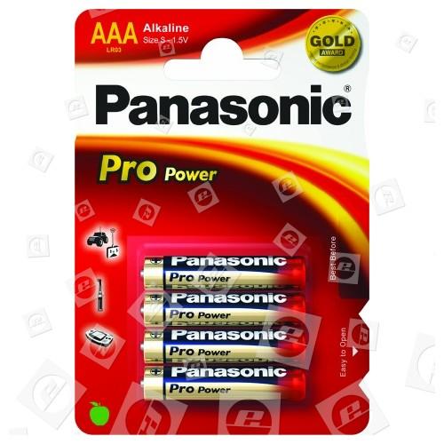 Piles Alkaline AA Panasonic