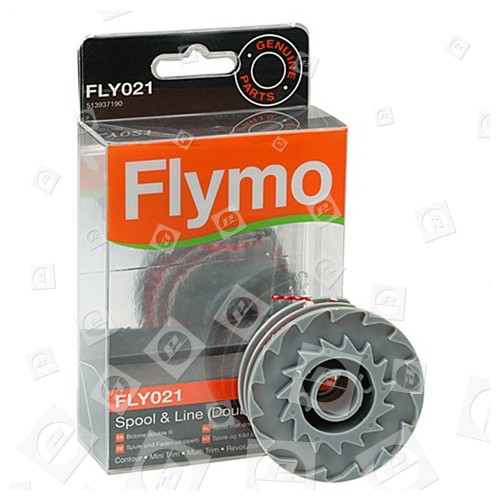 Bobine Et Double Fil FLY021 Coupe-Herbe Flymo