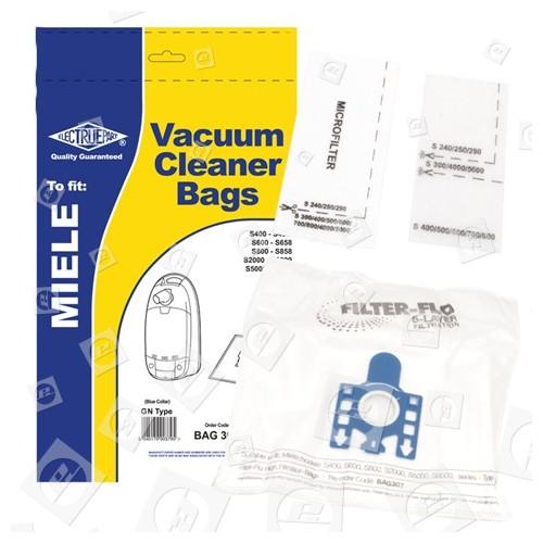 G/N Filter-Flo Synthetische Staubsaugerbeutel (5er Pack) - BAG307
