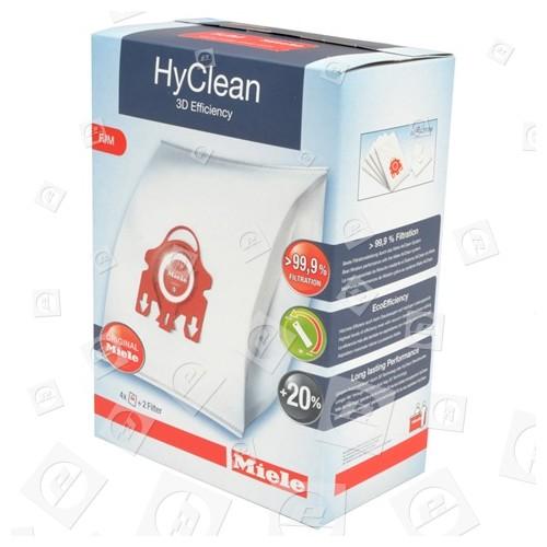Miele FJM HyClean 3D Efficiency Staubsaugerbeutel & Filterset (4x Beutel)
