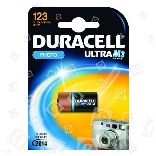 Pile Ultra Alcaline CR123A Duracell