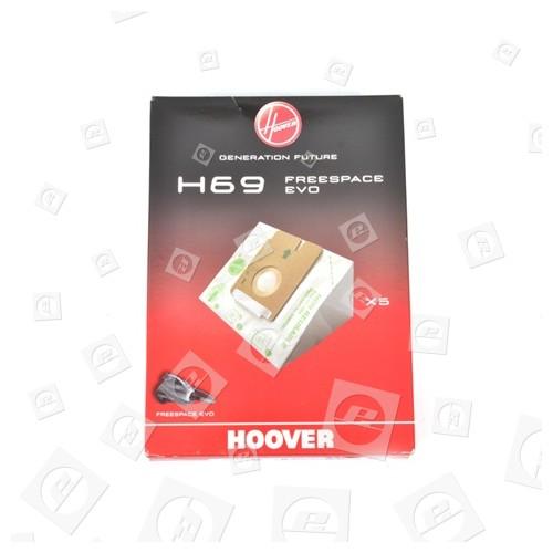 Hoover H69 Staubsaugerbeutel (5er Pack)