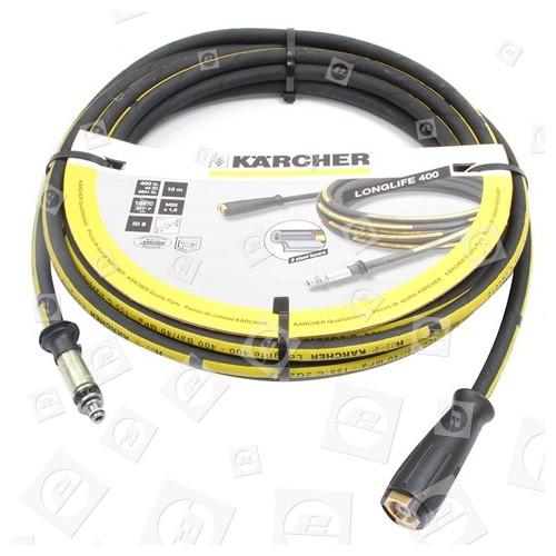 Karcher HDS 1295-FLAMM Hochdruckschlauch Longlife 400, 10m NW 8, AVS-Pistolenanschluss 6.391-351.0