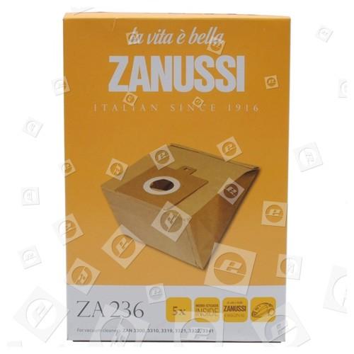 Zanussi-Electrolux ZA236 Papierbeutel (5er Pack)