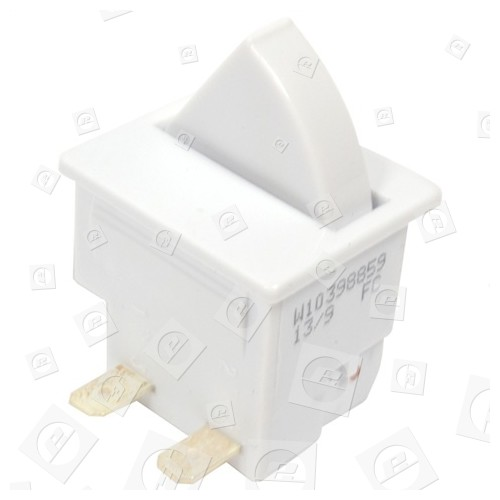 Whirlpool Kühl-/Gefrierschrank-Lichtschalter : WP11 0.5A 250VAC 5E4 25T85 : 2 Anschlusskontakte