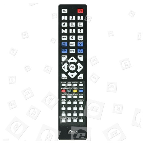Classic Kompatibel Mit RC1800, RC1805, RC1810, RC1825, RC3900 RC5110 TV Fernbedienung RC3910