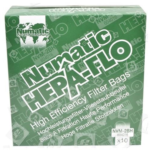 Numatic NVM-2BH 3 Schichtige Hepaflo Filter Staubsaugerbeutel (10er Pack)