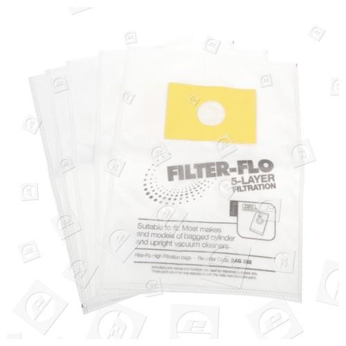 Electrolux Universal Filter-Flo Boden-/Handstaubsauger-Adapterbeutel (5er Packung)
