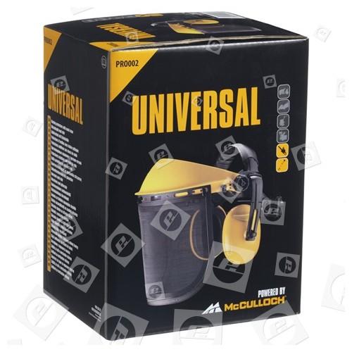 Visiera A Maglia E Cuffie PRO002 Universal Powered By McCulloch