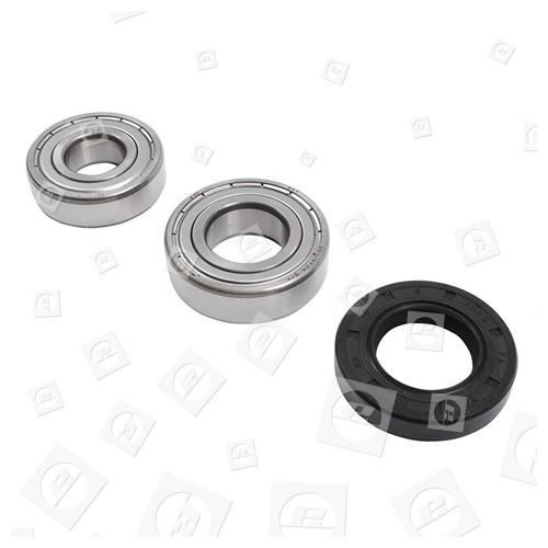 Ariston Waschmaschinen-Lager & Dichtungsset 6204zz & 6205zz & 30x52x7